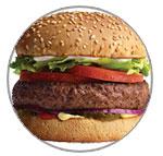 Grandpa Burger®, Grandpa Burger® with cheese, Teen Burger®